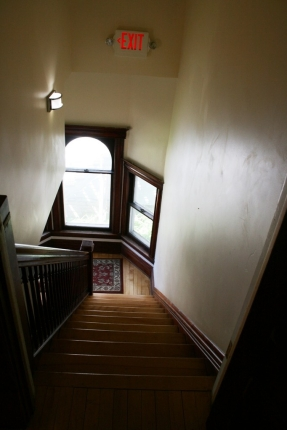 Photo of stairway inside of office location