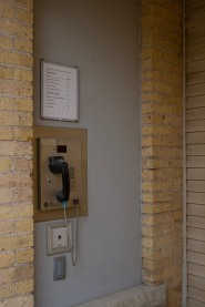 Security entrance phone